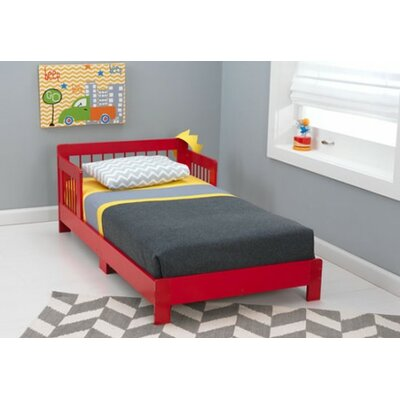 Rylee Toddler Bed Finish: Red