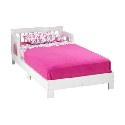 Rylee Toddler Bed Finish: White