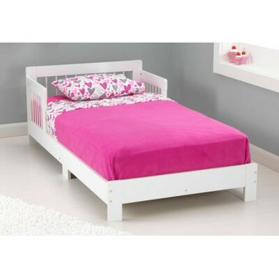 Rylee Toddler Bed Color: White