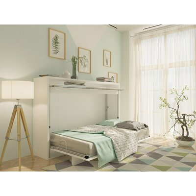Bustleton Twin Murphy Bed Color: White