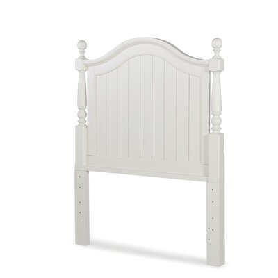 Otto Low Poster Panel Headboard Size: Twin, Finish: Ivory