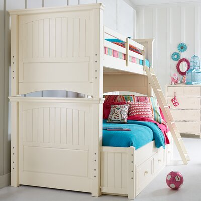 Otto Twin Over Full Bunk Bed with Trundle