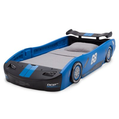 Zion Turbo Twin Car Bed Color: Blue