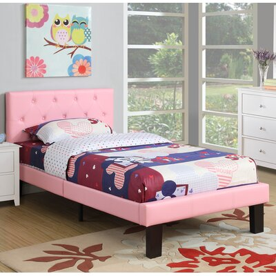 Elvis Twin Platform Bed Color: Pink