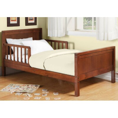 Baby Dorel Toddler Panel Bed Finish: Dark Cherry