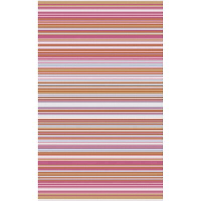 Javonte Hot Pink Area Rug Rug Size: 8 x 11