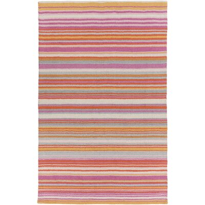 Javonte Hot Pink Area Rug Rug Size: Rectangle 9 x 13