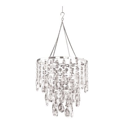 Simeon Diamond Ensemble 1-Light Crystal Pendant