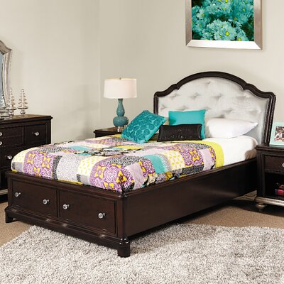 Jamari  Panel Bed with Storage