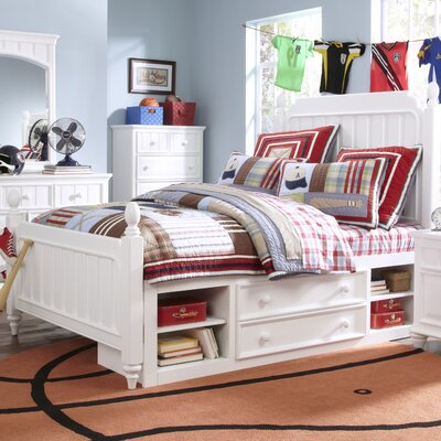 Tyquan Panel Bed with Storage