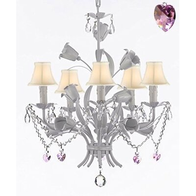 Laurens 5-Light Shaded Chandelier