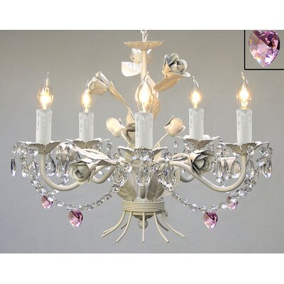 Laurens 5-Light Crystal Chandelier