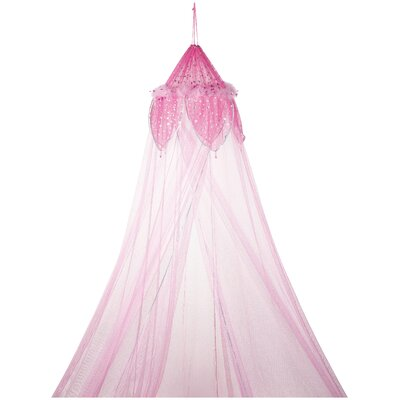 Phoenix Fantasy Bed Canopy Color: Pink