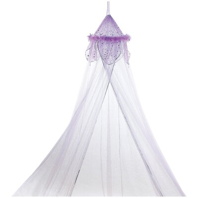 Phoenix Fantasy Bed Canopy Color: Purple
