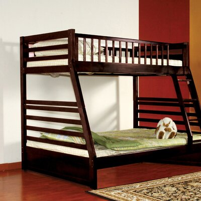 Pierre Twin over Full Bunk Bed Finish: Espresso