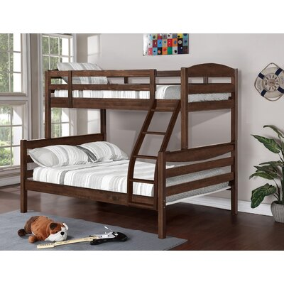 Ralph Twin over Full Bunk Bed Color: Chestnut Stain
