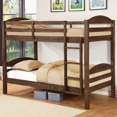 Ralph Twin over Full Bunk Bed Finish: Chestnut Stain