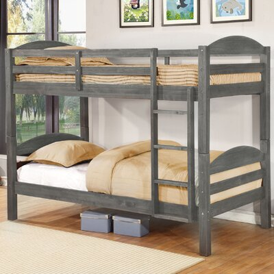 Ralph Twin Bunk Bed Finish: Rustic Grey
