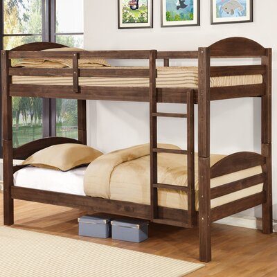 Ralph Twin Bunk Bed Finish: Chestnut Stain