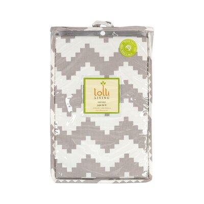 baby gifts store - Lolli Living Naturi Chevron Aztec Crib Skirt - Cot Bedding Accessories Baby Bedding