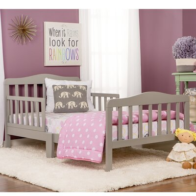 Classic Toddler Bed Finish: Gray