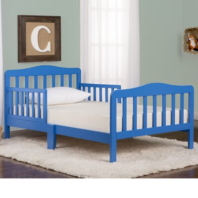 Classic Convertible Toddler Bed Finish: Blue