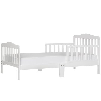 Classic Toddler Bed Color: White