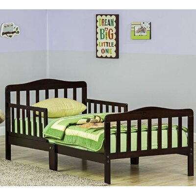 Classic Toddler Bed Color: Espresso