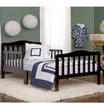 Classic Toddler Bed Finish: Black