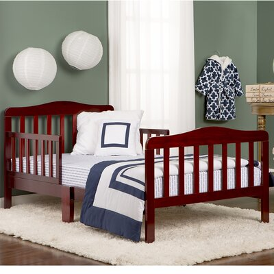 Classic Toddler Bed Color: Cherry