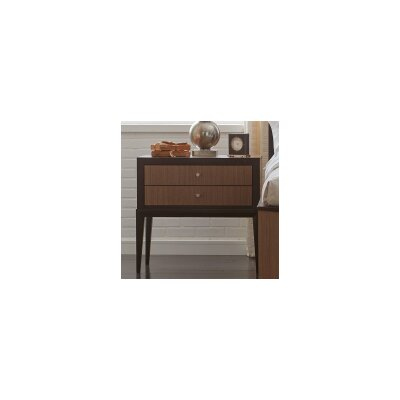 Alysa 2 Drawer Nightstand