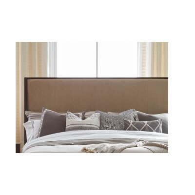Alysa Upholstered Panel Headboard Size: King/California King
