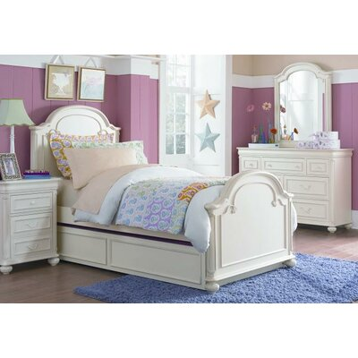 Kassidy Arched Panel Bed Size: Twin