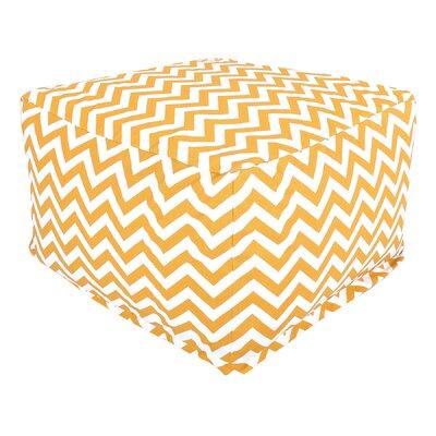 Jamaal Pouf Upholstery: Yellow