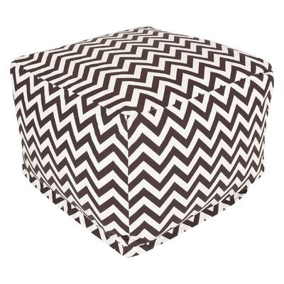 Maia Pouf Upholstery: Chocolate