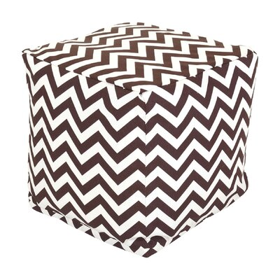 Jamaal Cube Ottoman Upholstery: Chocolate