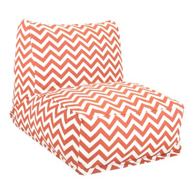 Jamaal Bean Bag Lounger Upholstery: Burnt Orange