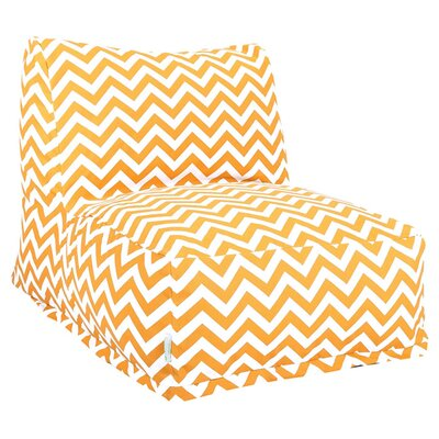 Jamaal Bean Bag Lounger Upholstery: Yellow