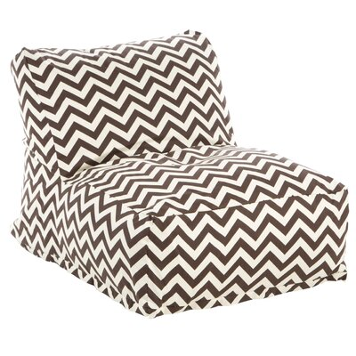 Jamaal Bean Bag Lounger Upholstery: Chocolate