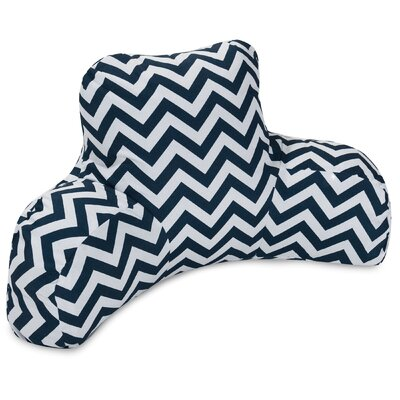 Aspen Indoor/Outdoor Bed Rest Pillow Color: Navy