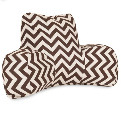 Aspen Outdoor Bed Rest Pillow Color: Chocolate