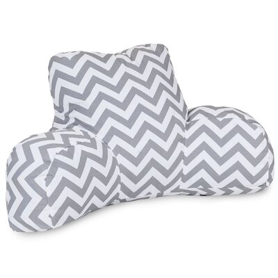 Aspen Outdoor Bed Rest Pillow Color: Gray