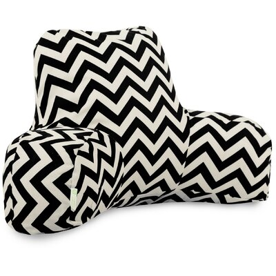 Aspen Outdoor Bed Rest Pillow Color: Black