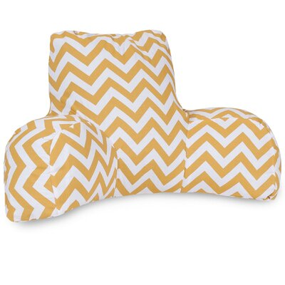 Aspen Indoor/Outdoor Bed Rest Pillow Color: Yellow