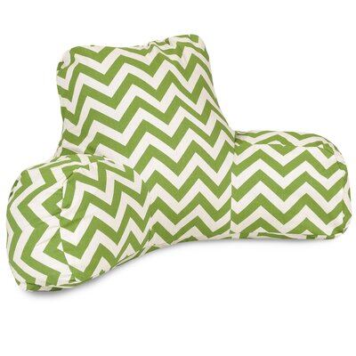 Aspen Outdoor Bed Rest Pillow Color: Sage