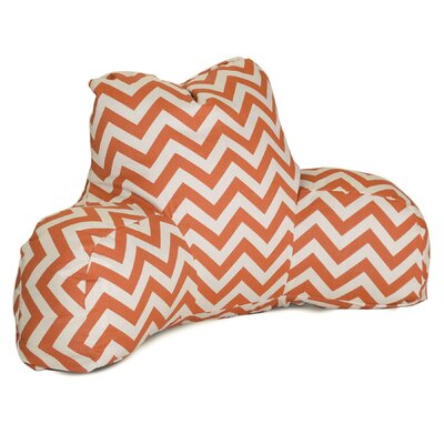 Aspen Outdoor Bed Rest Pillow Color: Burnt Orange