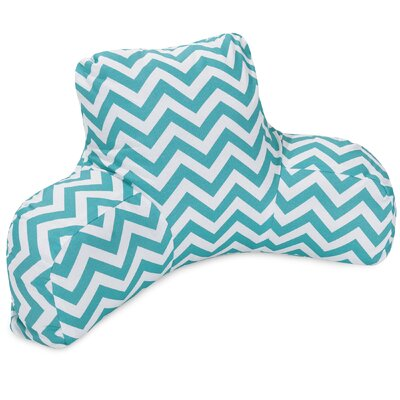 Aspen Outdoor Bed Rest Pillow Color: Teal