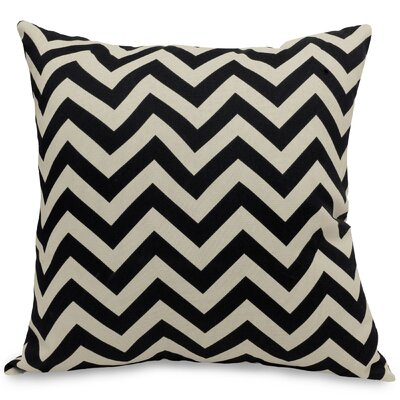 Aspen Throw Pillow Fabric: Black, Size: Extra Large