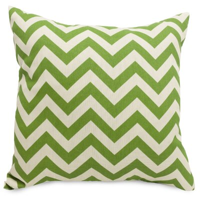Aspen Throw Pillow Size: Extra Large, Fabric: Sage