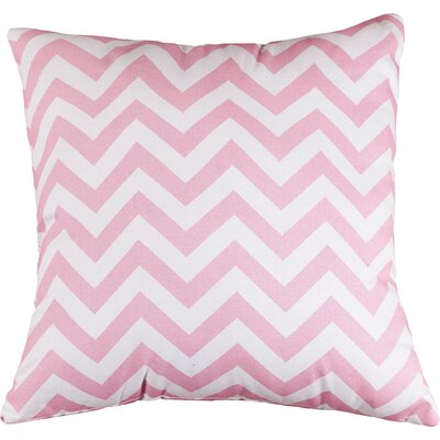Aspen Chervon Throw Pillow Size: Extra Large, Color: Baby Pink